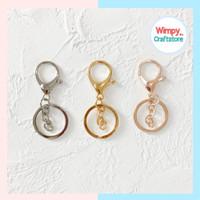 Gantungan kunci lobster bahan aksesoris clasp bag charm craft souvenir