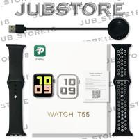 T55 Smartwatch Original Bluetooth IWO 10 5 Apple Watch Jam Tangan Pro