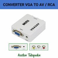 Converter VGa To AV / RCA / Konverter VGA2AV
