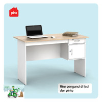meja kantor kerja tulis 1/2 biro