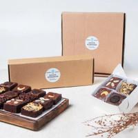 Fudgy Brownies Bakoel Roemahan, Premium Homemade brownie - 22 X 22 cm