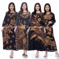 longdres batik-gamis batik bahan rayon-daster busui adem-baju santai