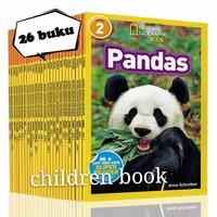 National Geographic level 2 Anak 25 buku