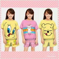 Stelan Anak / Baju Anak Stelan Perempuan umur 5-12 tahun - Tweety, S