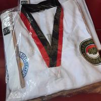 Baju Taekwondo Anak Lengkap / Kostum / Beladiri / Seragam / Pakaian - 7