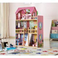 American simulation doll house - Mainan Anak - Mainan Miniatur