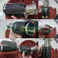 Buntut Knalpot / Muffler Akrapovic 6,5cm Carbon CT-10 Grand Livina