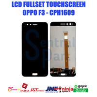 LCD OPPO F3 CPH1609 FULLSET TOUCHSCREEN OEM CONTRAS MAIN GRADE AAA - Putih