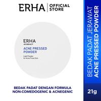 erha21 Acne Care Lab Pressed Powder 13g - Bedak Kulit Jerawat