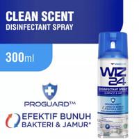 Wiz24 Disinfectant Spray Aerosol Clean Scent 300ml