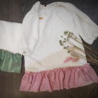 baju anak perempuan dress anak perempuan warna putih poetri kamil AHA