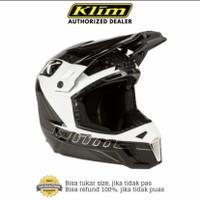 KLIM F3 Carbon Helmet ECE Draft White