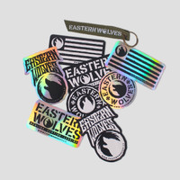 EASTERN WOLVES STICKER PACK-CRUSIAL