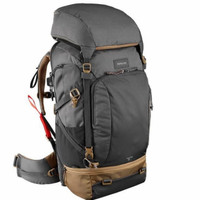 Forclaz Backpack Travel 50 L Dark Grey NEGO!