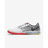 Sepatu Futsal Nike Lunar Gato II IC White Red 580456-167 Original BNIB