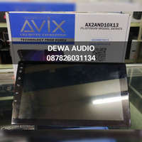 HEAD UNIT ANDROID AVIX 9inch ANDROID 10.1