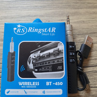 Lumin AUX 3.5mm bluetooth Wireless Audio Jack Car Music Receiver
