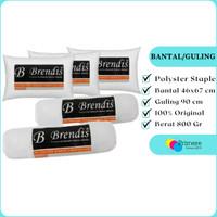 Bantal Guling Set Dewasa Murah Dakron / Paket Bantal dan Guling Tidur