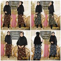 Model ekstra panjang - baju renang wanita muslimah syari