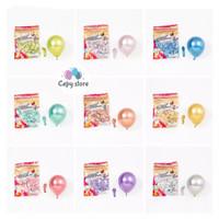 Balon Latex Chrome / Balon Metalik Chrome 5inch Per Pack Isi 100 Pcs - Biru
