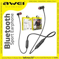 AWEI Bluetooth Neckband Wireless Sport Earphone - In-Ear Headset G40BL