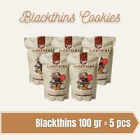 Blackthins Cookies Ladang Lima 100gr, 5 pcs