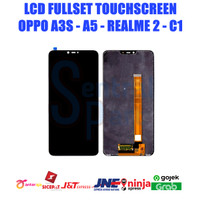 LCD OPPO A3s / A5 / REALME 2 / C1 FULLSET OEM CONTRAS MAIN GRADE AAA