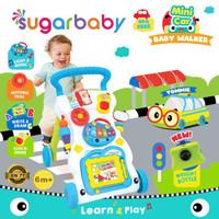 SUGAR BABY MINI CAR PUSH WALKER (BABY WALKER) DENGAN PEMBERAT #03