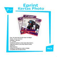Eprint T-Shirt Dark Transfer Paper A4 300gsm