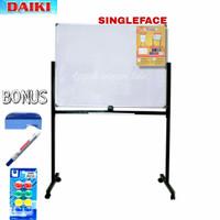 Daiki White Board Standing - Singleface Magnet - 90x120cm