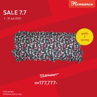 Romance - 1 Bantal Cinta + 2 Sarung Motif Romance Grosir