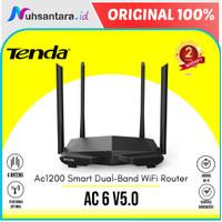 Tenda AC6 AC1200 Dual Band Wifi Wireless Router 4 Antena