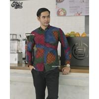 Kawung Mahesa - baju batik - batik slim fit - mensbatik