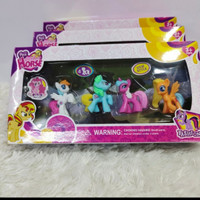 mainan boneka unicorn kecil - isi 4.