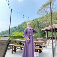 Baju Gamis Syari Wanita Terbaru Gifani Dress Jumbo Murah