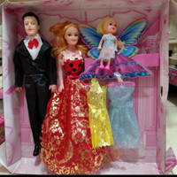 mainan Barbie isi 2+1 - B