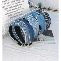 Bando headband Model Jeans Denim / Hair Accesories Import - Random