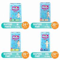 Baby Happy Diapers Pants M 34+4 | L 30+4