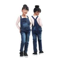 overall jeans jumpsuit/baju kodok anak perempuan panjang levis DIK2AF