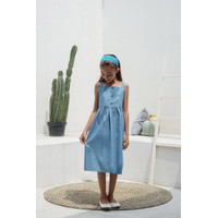 Pakaian Dress Anak Perempuan TinyTales Mimi Usia 8 9 10 11 12 Tahun - 8-9 tahun