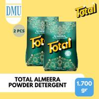 Sabun Detergent Bubuk Total Almeera Powder 1700 gr - 2 Pcs