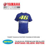 T-SHIRT YAMAHA FACTORY RACING 01 FOR KIDS