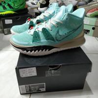 Sepatu Basket Sneakers Nike Kyrie 7 Light Aqua TOSCA GREEN WHITE HIJAU