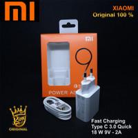 Casan Charger Hp Xiaomi Original 100% 9V 2A 18w Fast Charging