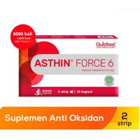 Asthin Force 6 mg Strip 6Kapsul