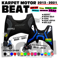 Karpet Motor Beat 2020 Deluxe Street Pijakan Kaki Alas Kaki Beat 2020