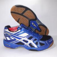 Sepatu Badminton Professional Exalibur 3 Biru Size 37 38 39