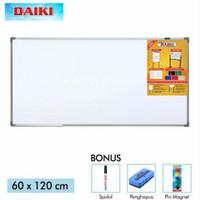 White Board Magnet Daiki - Papan Tulis Gantung - Size 60x120cm
