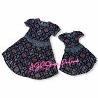 baju couple batik keris original ibu dan anak