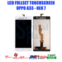 LCD OPPO A33 / NEO 7 FULLSET TOUCHSCREEN OEM CONTRAS MAIN GRADE AAA - Putih